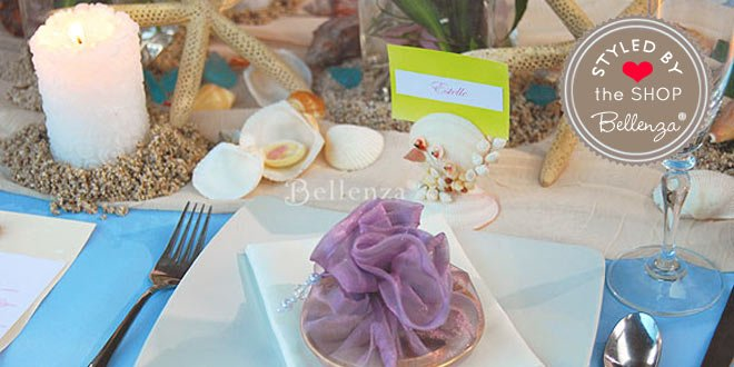 Elegant Beach Table Decorations for a Sea-inspired Birthday Party