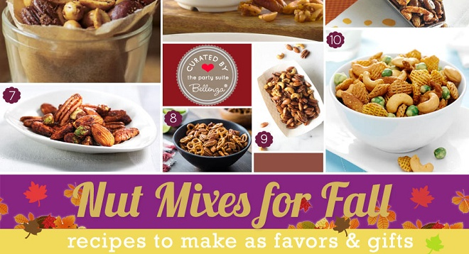 Thanksgiving favor of nuts