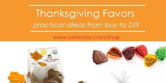 Elegant Thanksgiving Favors for Adults