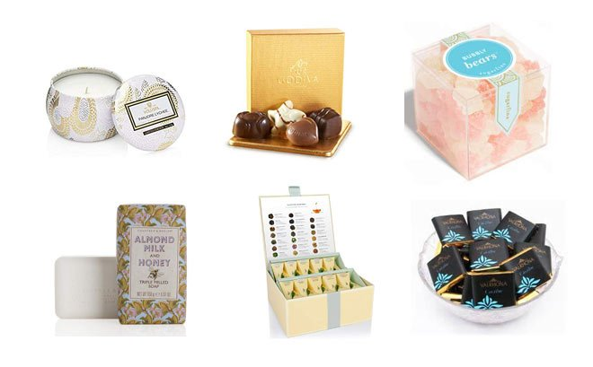 Luxury favor ideas from candles to tea