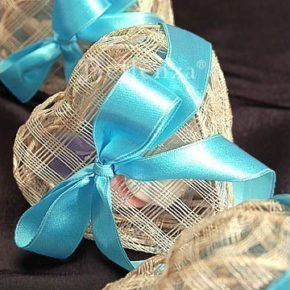 Charisse Rustic Heart Favor Boxes for Soaps