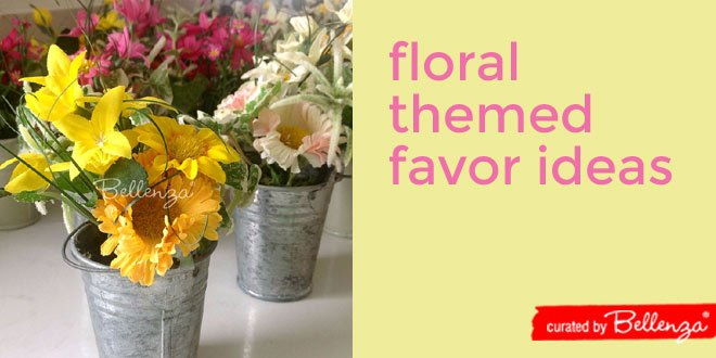 Elegant Flower Favors