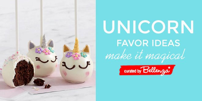Unicorn bridal shower favor ideas