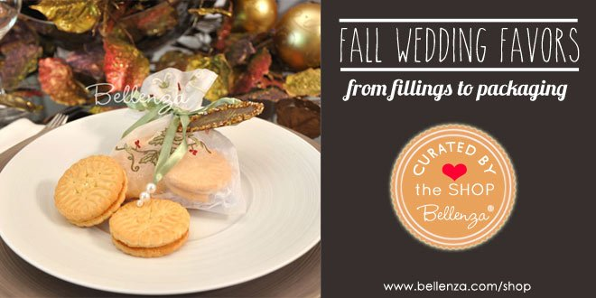Creative fall favors from fillings to packaging ideas