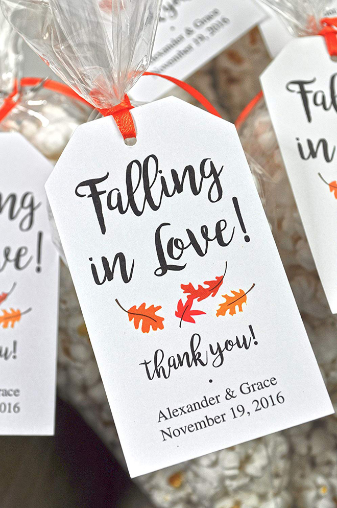 falling in love favor tags