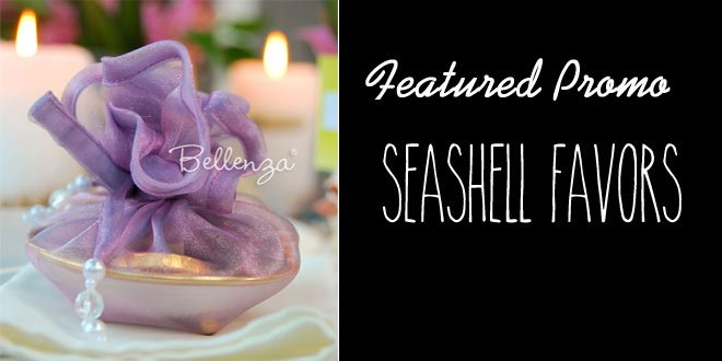 Get 25% OFF Vamélour Seashell Favor Trays