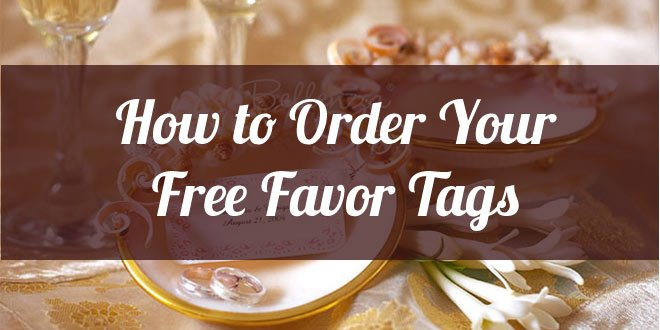 how to order your free favor tags