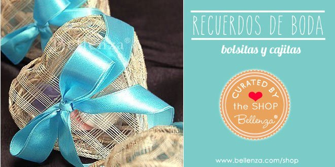 Ideas originales de bolsos a favor para bodas