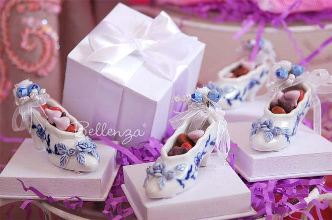 cinderella favor shoes