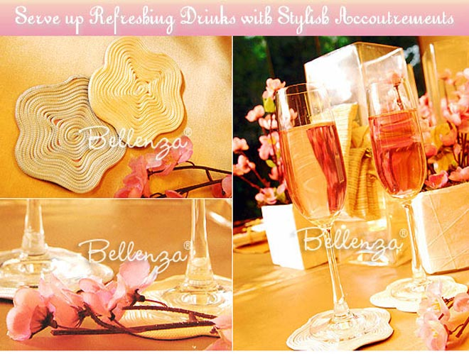 Cherry blossom coasters to DIY