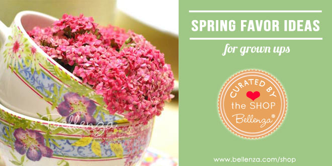 Spring birthday favors for grown ups
