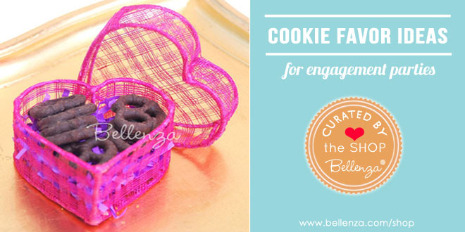 Cookie favor boxes