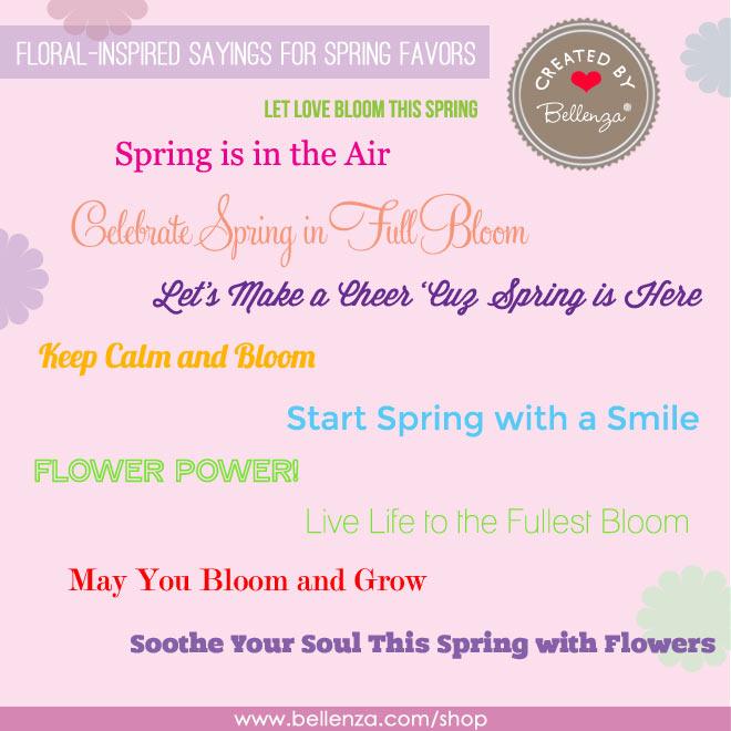 spring favor sayings