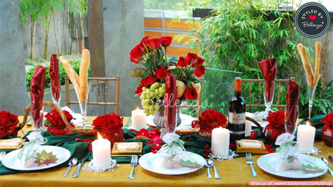 Italian-inspired Anniversary Dinner