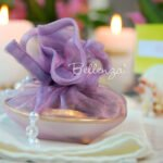 Vamelour Seashell Dish with Zaarni Favor Wrapping