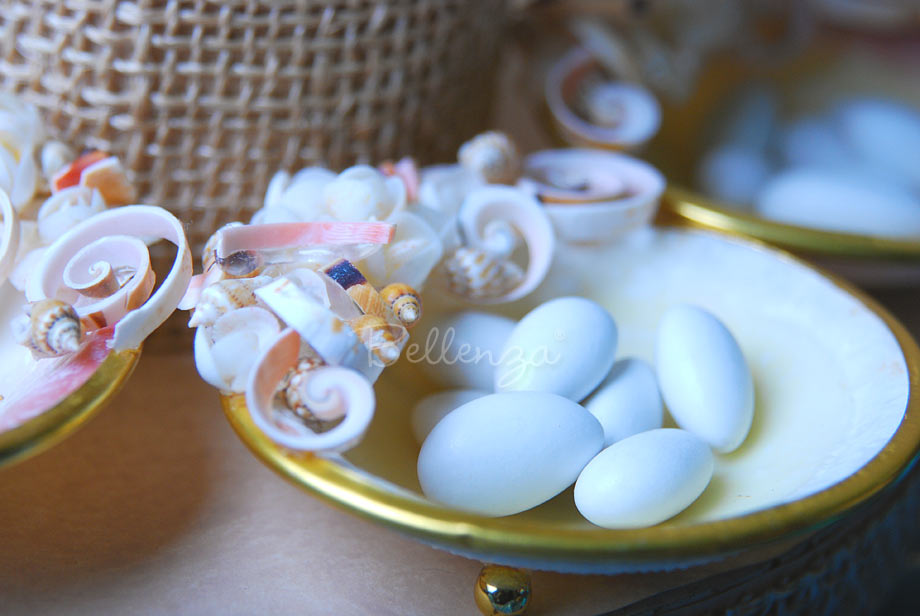 Seashell Candy Dish Favors (set of 2)