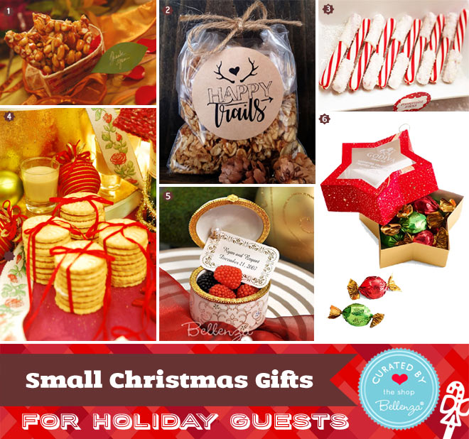 Small gifts to display on your Christmas table