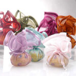 Fiovale Porcelain Box with Favor Wraps (set of 6)