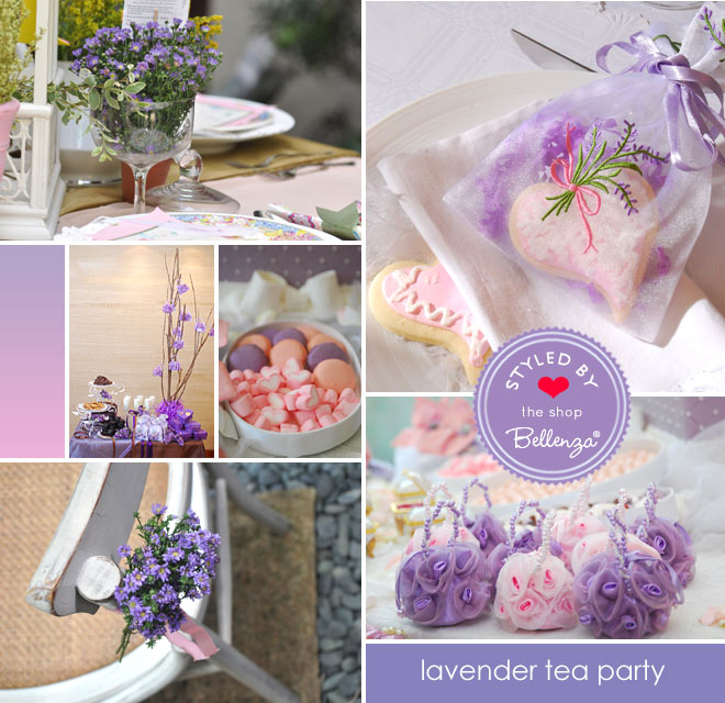 Lavender Tea Party for Mother's Day!