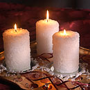 Zabenya Rose Candle