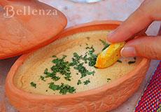 Cheese bowl dip