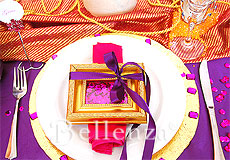 Exotic place setting