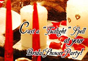 Twilight bridal shower theme