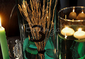 Broomstick for Halloween table decoration