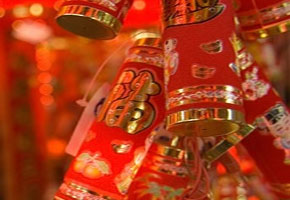 Chinese New Year fire crackers