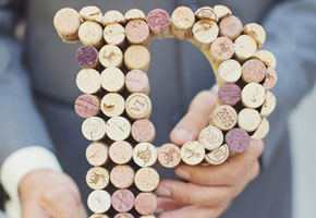 Letter corks