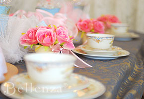 English bridal shower tea party