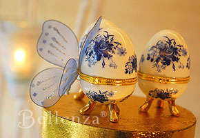 Faberge themed wedding