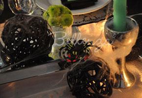 Sneak Peek: A Halloween-themed Wedding Party