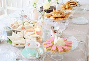 A Charming High Tea Party