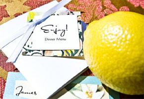 Lemon-inspired wedding ideas