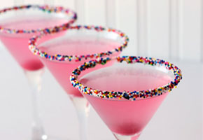 Pink martini for Valentine's Day
