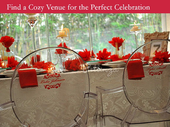 Modern Vintage Valentine's party venue