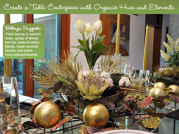 Christmas table centerpieces