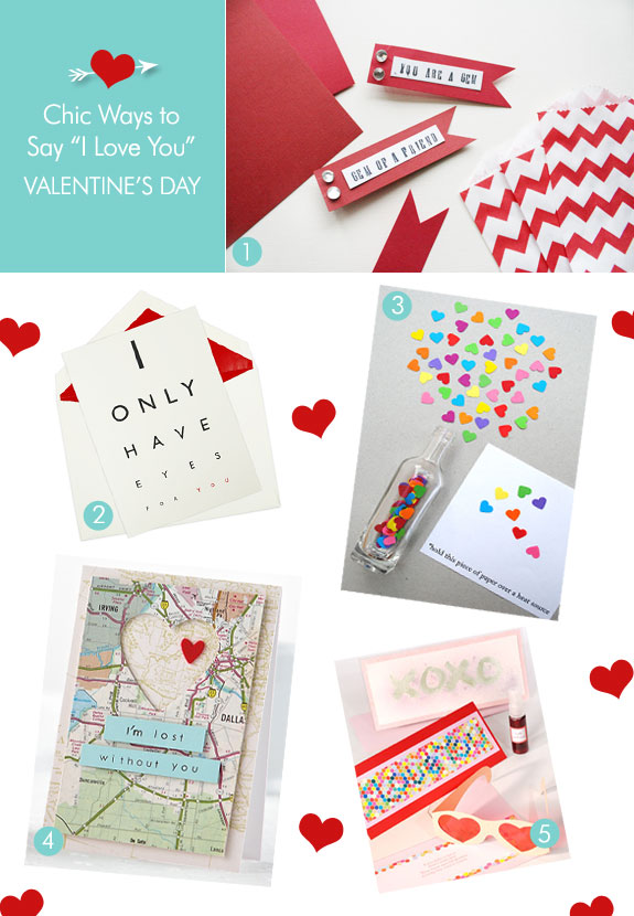 Cute ideas for expressing your love on Valentine's Day