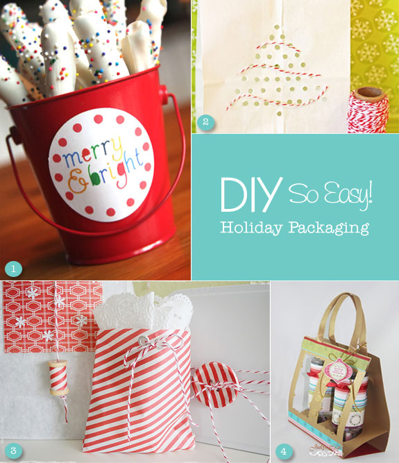 Colorful Christmas packaging ideas