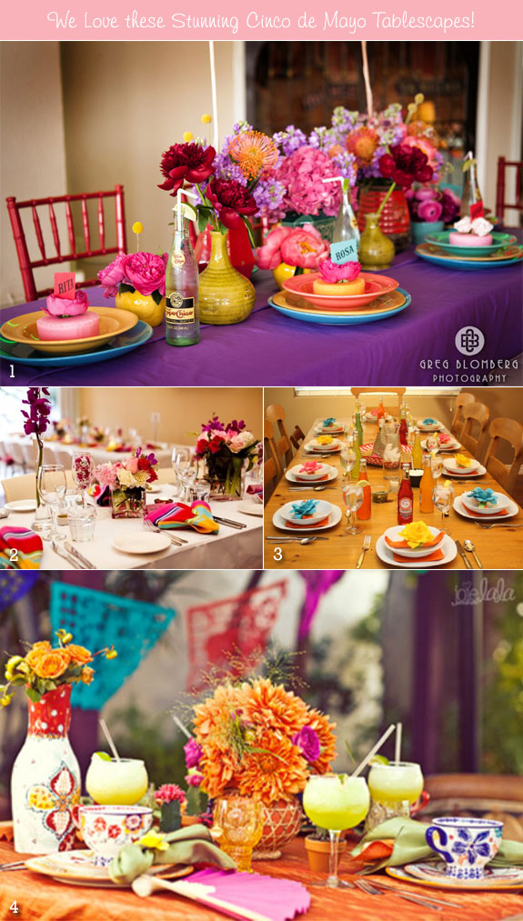 Cinco De Mayo Wedding Tables