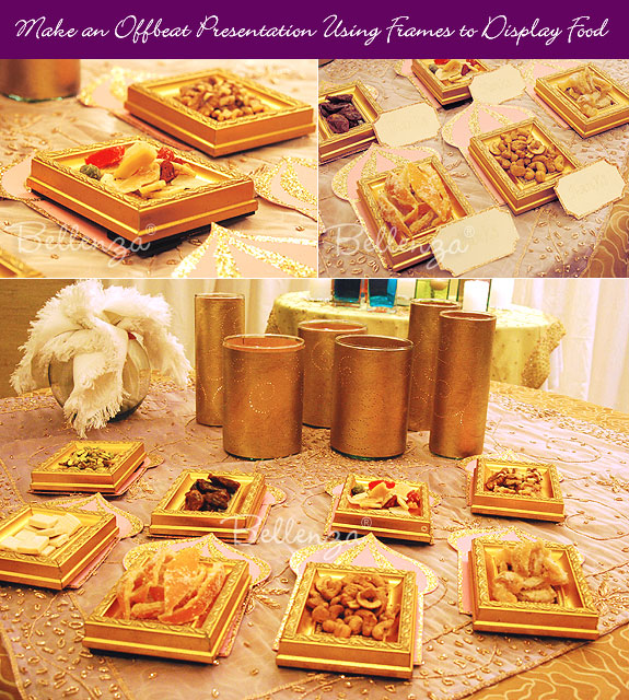 Using Picture Frames to Present Food