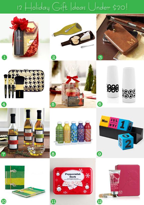 Holiday Gift Guide Under 20 That Are Practical