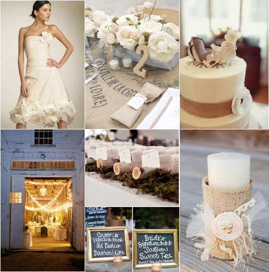 Ivory wedding colors