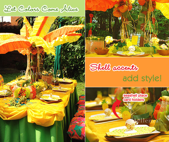 Jamaican engagement party