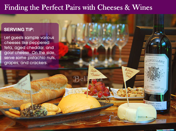 How to choose cheeses for a bridal shower party