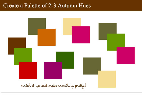 Make The Most Of Fall Time Colors And Textures