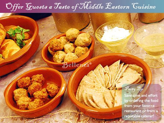 Food such as herb-infused kofta meatballs