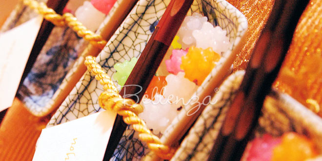 Wedding Favor Packaging with a Japanese Flair