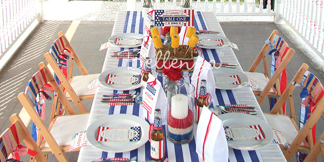 4th of July Themed Wedding Rehearsal Dinner Ideas